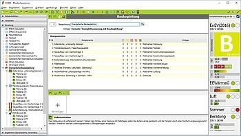 EVEBI - Baubegleitung: Übersicht Komponenten