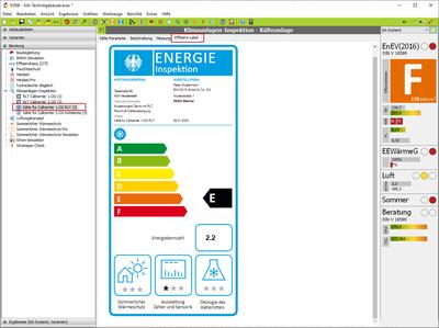 Maske: Klimaanlagen-Inspektor: Effizienz-Label