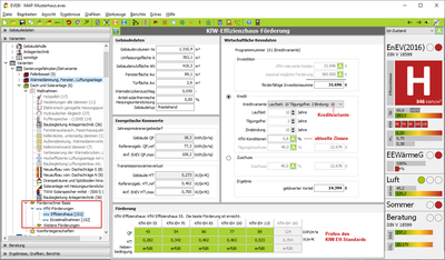 Förderrechner Basis: KfW-Effizienzhaus