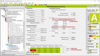 EVEBI Energieberatersoftware - KfW-Förderungen