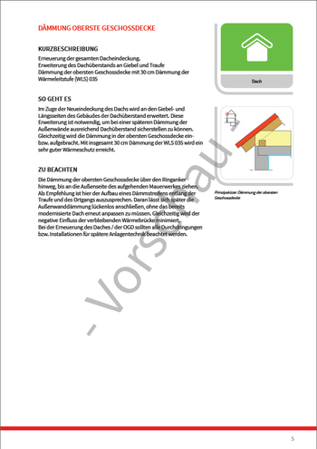 UMSETZUNGSHILFE (iSFP) - Maßnahme