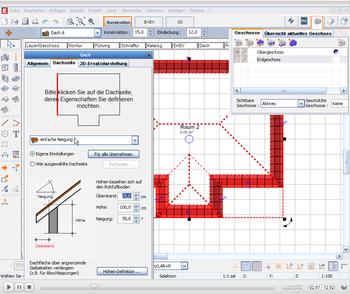 EVEBI Energieberatersoftware - Schnittstelle CAD - IFC - Dach