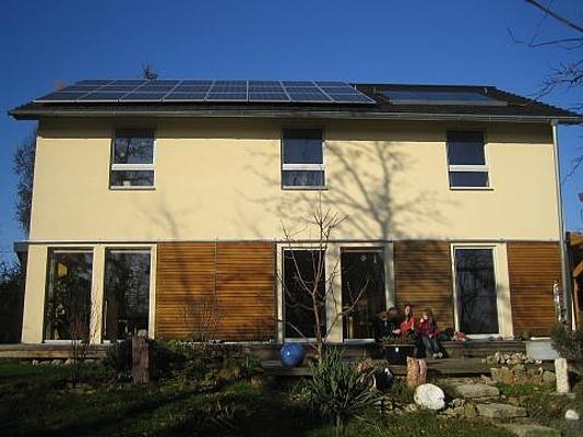 Öko-Passivhaus als Plusenergiehaus