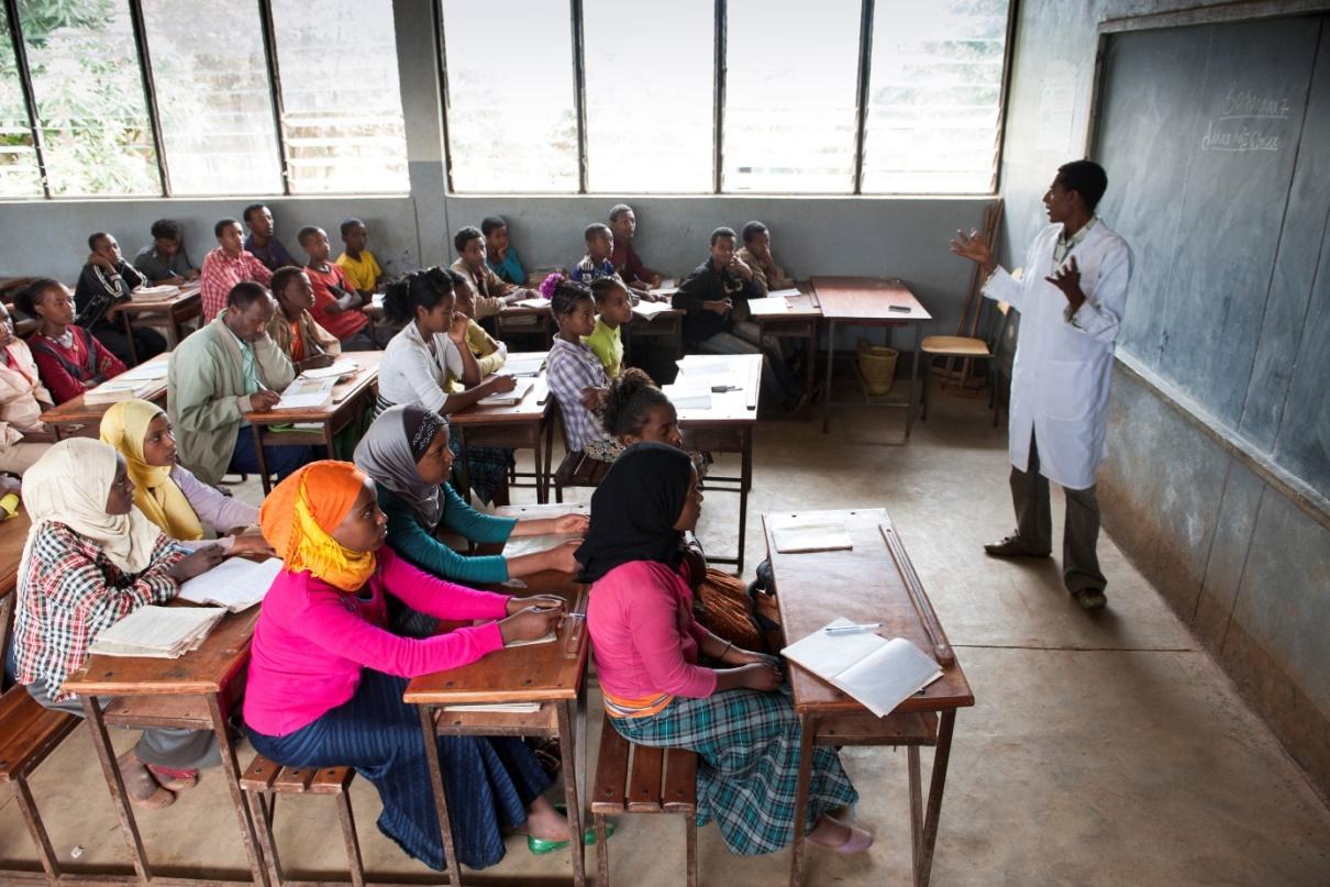 Menschen für Menschen finanziert Schulen in Äthiopien