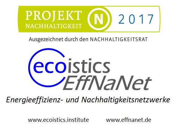 ecoistics.EffNaNet-Nachhaltigkeitspreis